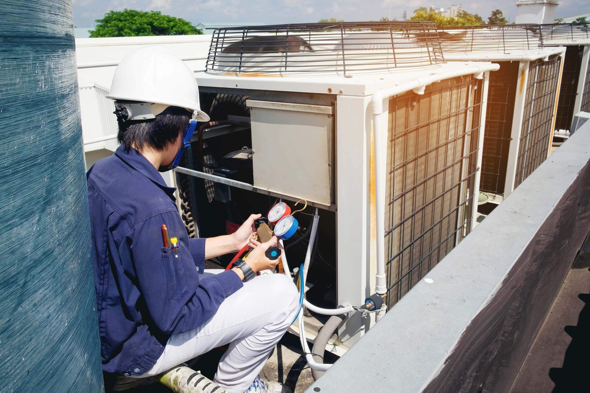 commercial air conditioning installation Newcastle